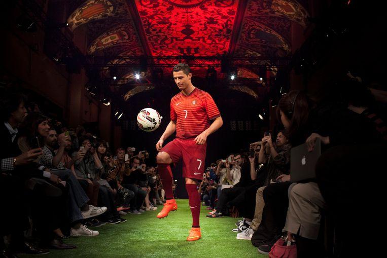 Cristiano Ronaldo in 2014 in een Nike-commercial.