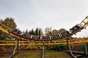 De achtbaan van Avonturenpark Hellendoorn.