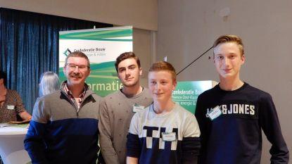 Leerling VTI Menen wint Vlaamse houtproef