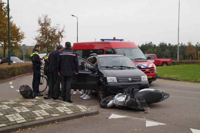 Het ongeval vond plaats op de Europalaan