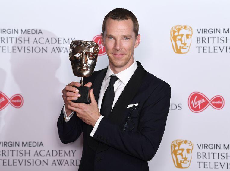 Ook Benedict Cumberbatch sleepte een beeldje in de wacht.