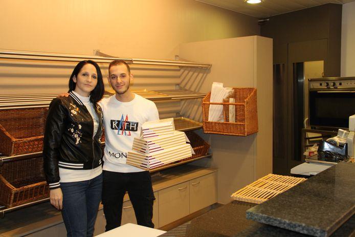 Deborah en Diagio gaan op 4 januari met hun bakkerij D&D in de Wallenstraat van start.