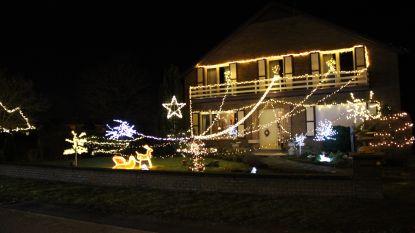 Duizenden lichtjes in de tuin van Johan brengen sfeer in de Luxemburgstraat