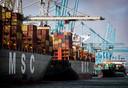 De haven van Rotterdam bereidt zich voor op de Brexit.