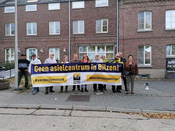 Vlaams Belang voerde vorige week nog actie.
