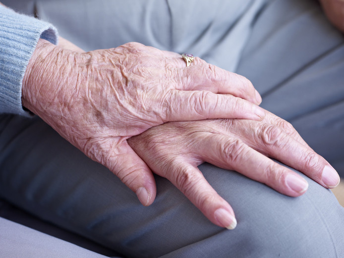 De vrouw liet de twee nep-medewerkers van het Albert Schweitzer ziekenhuis in goed vertrouwen binnen.
