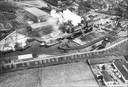 Luchtfoto suikerfabriek Steenbergen