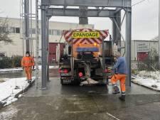 Quantité de sel, nombre d'agents... Bilan et perspectives du service d'épandage à Charleroi