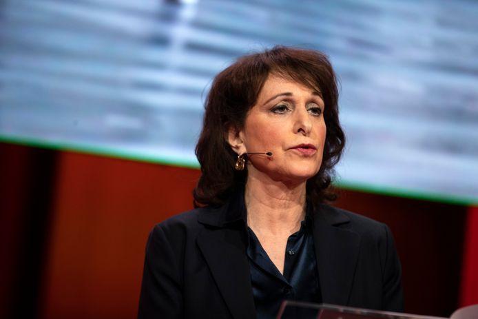 Shula Rijxman, voorzitter van de Nederlandse Publieke Omroep (NPO)