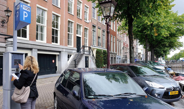 Parkeren in Amsterdam. Beeld ANP