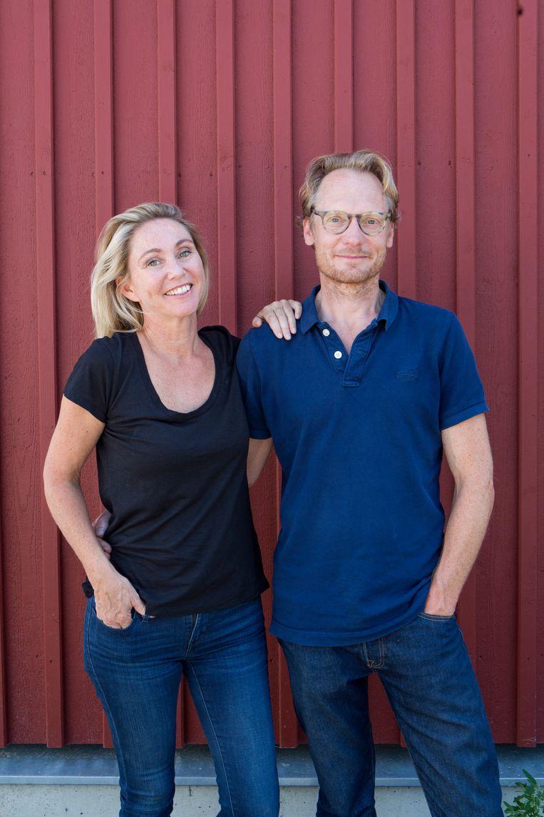 Jessika Kersting en Martin Qvist.   Beeld Jorgen Caris