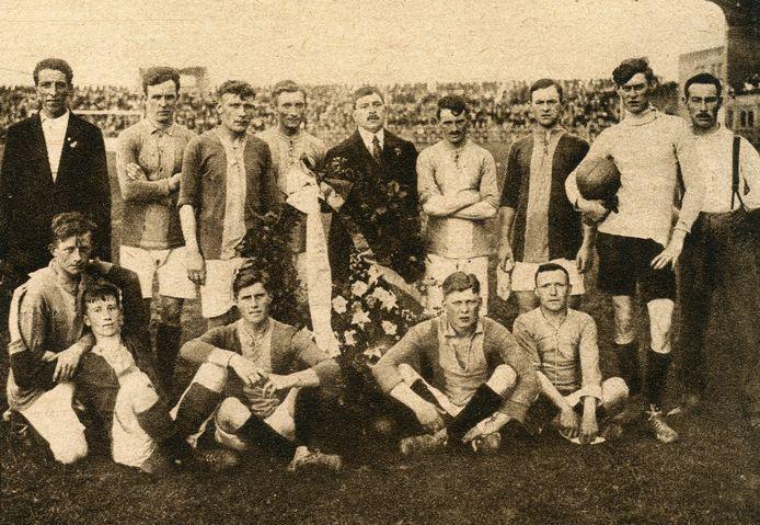 Go Ahead na het eerste kampioenschap in de clubhistorie in 1917. Het team bleef intact en noteerde een jaar later een ongeslagen serie van negentien wedstrijden. Het clubrecord tot nu toe.
