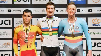 G-wielrenner Diederick Schelfhout wint brons op WK baanwielrennen