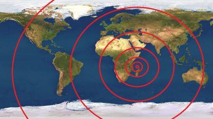 Wetenschappers staan voor raadsel nadat mysterieuze golven over de aarde rollen