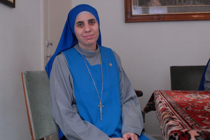 Zuster Guadeloupe is niet bevreesd voor de dood.