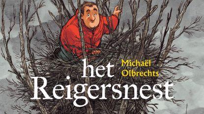 Striptekenaar Michaël Olbrechts stelt 'Het Reigersnest' voor