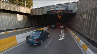 Hallepoorttunnel even in beide richtingen dicht door probleem met ventilatie