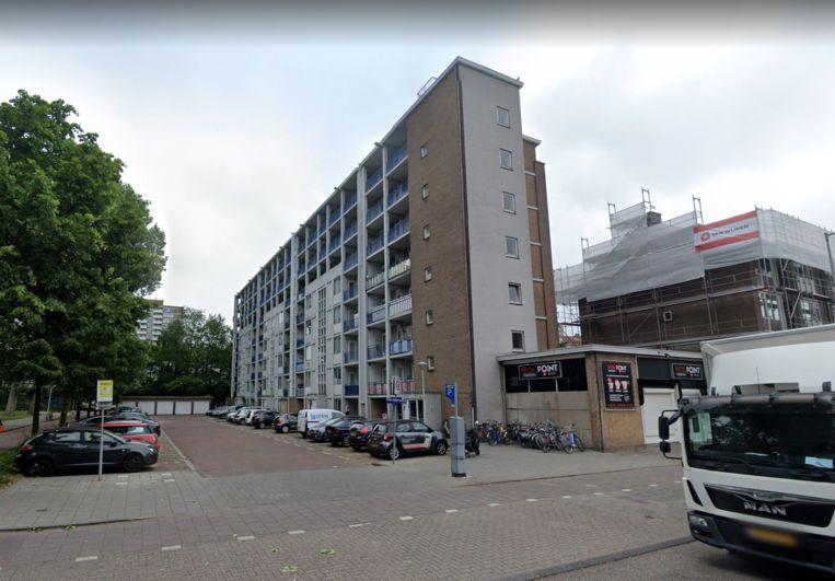 Het betreffende complex aan het Marius Bauerplantsoen. Beeld Google Streetview