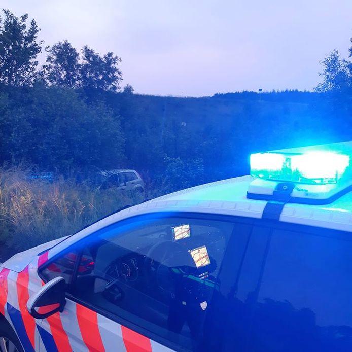 Drie jongens aangehouden na achtervolging en crash bij Bergen op Zoom.