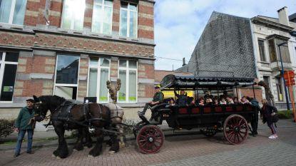Kleuters leren Brabants trekpaard kennen
