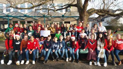 Leerlingen Molenveld zamelen 4.000 euro in voor Homaar en trekken naar Warmste Week