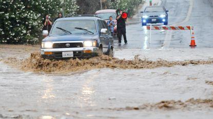 Na dodelijke bosbranden, nu ook overstromingen in Californië: opnieuw verschillende dorpen geëvacueerd, vrees voor gevaarlijke modderstromen