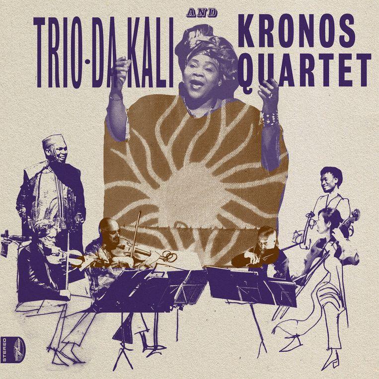 Het Kronos Quartet en Trio Da Kali. Beeld