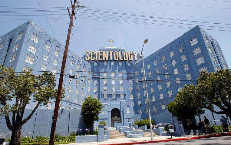 De Scientology-kerk in Los Angeles. Beeld reuters