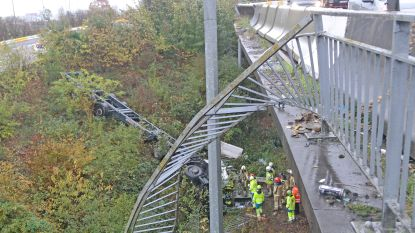 Spectaculair ongeval in Zwijnaarde: chauffeur buiten levensgevaar