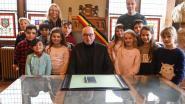 Leerlingen Echo-school op bezoek bij burgemeester