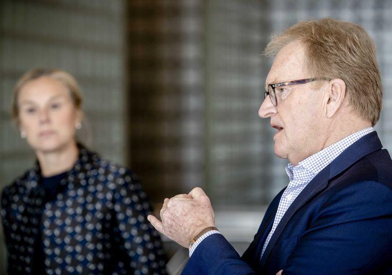 VNO-NCW-voorzitter Hans de Boer. Beeld ANP