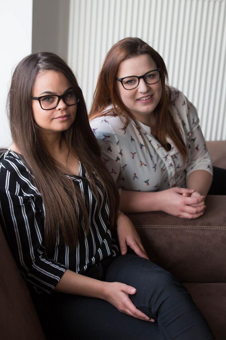 Leanne Henraat en Jolien Vissers.