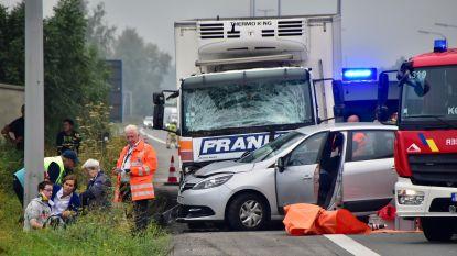 Vier gewonden na kettingbotsing E403