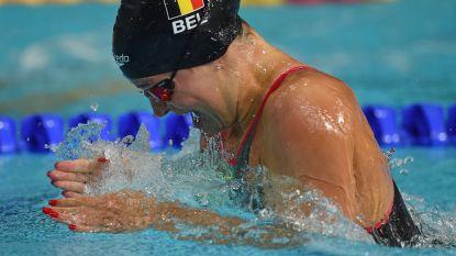 EK zwemmen. Fanny Lecluyse plaatst zich voor finale 200m schoolslag - Belgen sneuvelen in reeksen 200m vrije slag