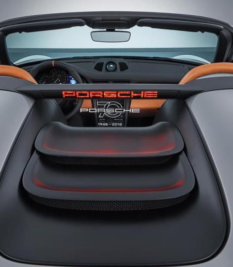 Porsche 911 Speedster wordt GT3 zonder dak