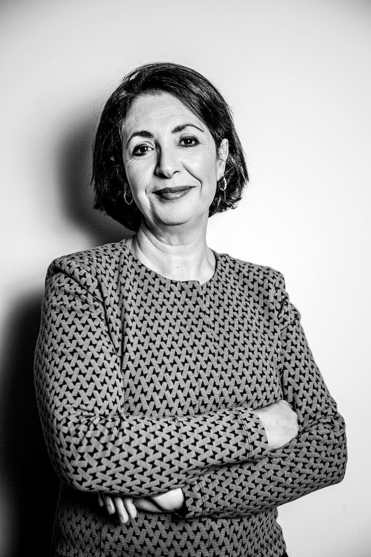 Khadija Arib: 'In Nederland gaan we zo om met maatschappelijke problemen. Zolang je er geen last van hebt, hoef je niets te doen.' Beeld Ernst Coppejans