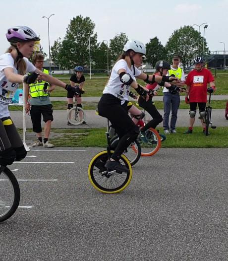NK Eenwieleren in Breda: niet alleen voor clowns of acrobaten