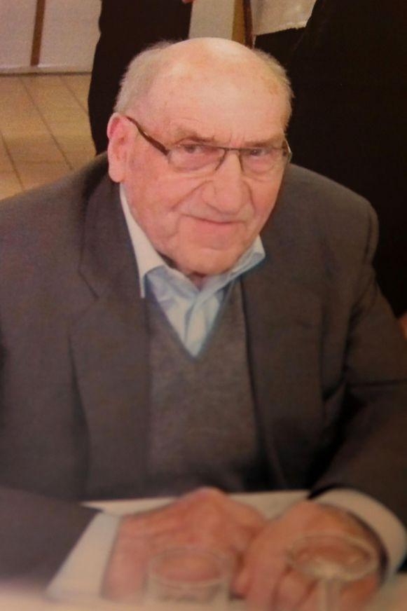 Slachtoffer Robert Paridaens.