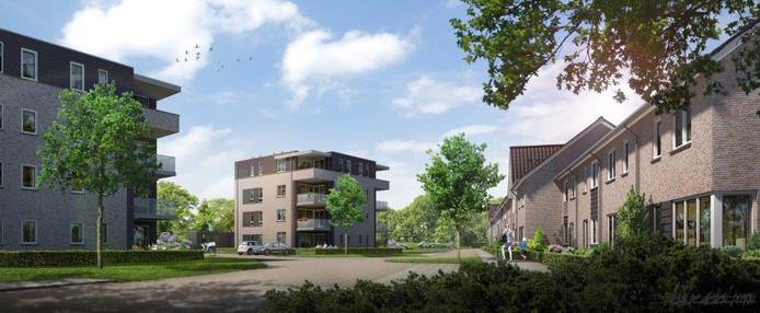 Het project Hof de Hoop van Bunte Vastgoed Zuid BV