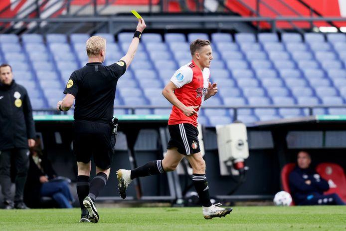 Jens Toornstra gaat op de bon.
