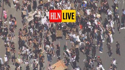 HLN LIVE. Nu ook in Londen honderden mensen op straat na dood van Floyd