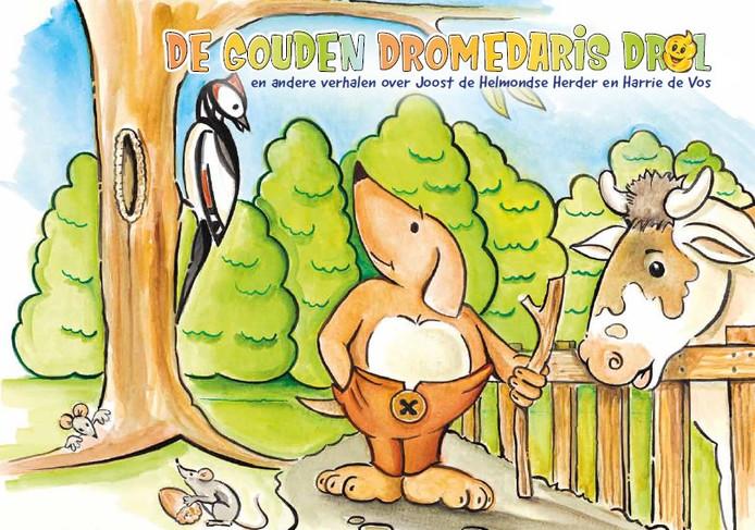 De kaft van het kinderboek De Gouden Dromedarisdrol.