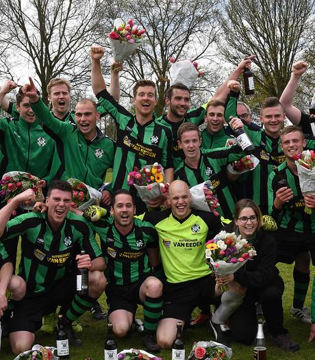 Tweede kampioenschap in acht dagen voor voetballer uit Haps