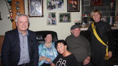 Alfons en Julienne vieren 60 jaar huwelijk