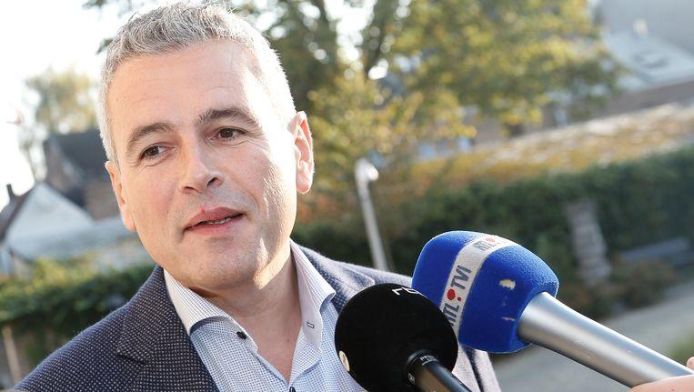Minister van Begroting, Christophe Lacroix (PS).