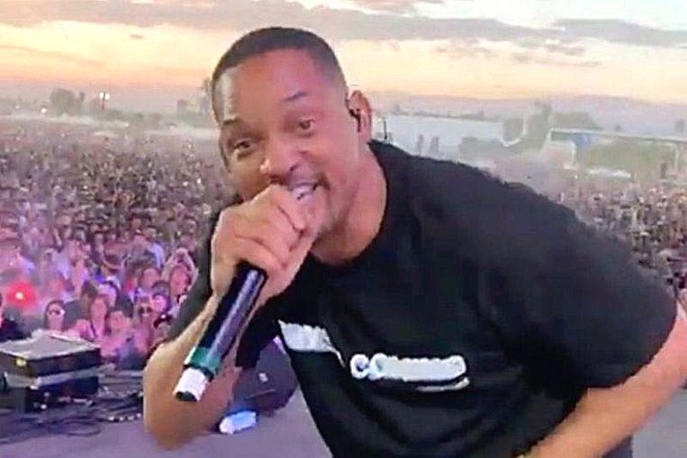Will Smith voegt zich bij Jaden op Coachella.