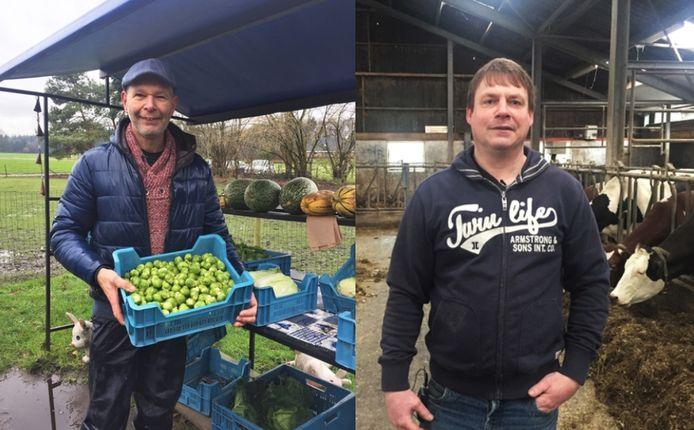 Boeren Willem (links) en Klaas gaan weer op zoek naar de liefde.