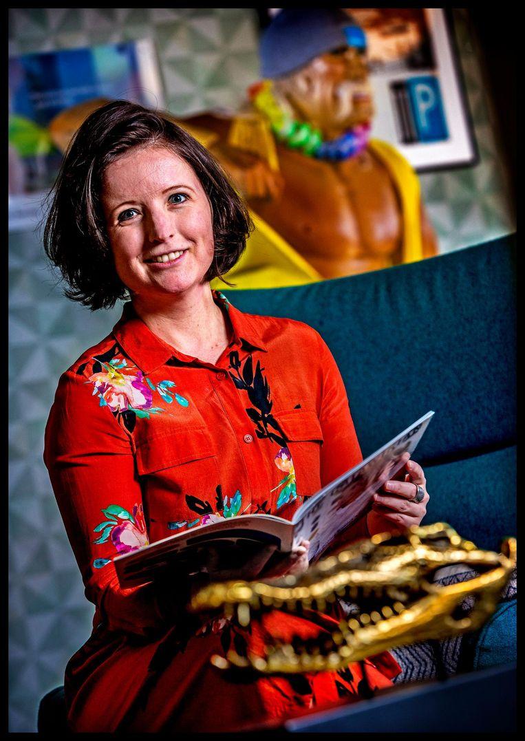 Ilse Kamps, sinds 1 december 2016 topvrouw van Catawiki. Werkte eerder onder meer bij Booking.com Beeld Pim Ras