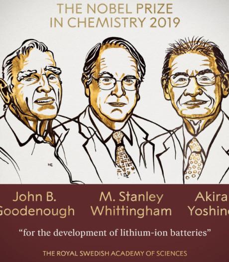 Nobel de chimie: un trio américano-britannico-japonais récompensés pour l'invention des batteries au lithium-ion