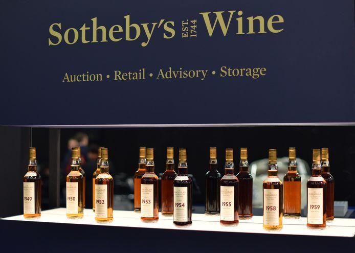 Macallan-whisky (niet de verzameling in kwestie).